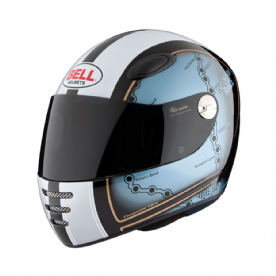 Bell M1 Isle of Man Helmet Blue